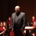 کنسرت ارکستر سنفونیک رسانه هنر در تالار رودکی
